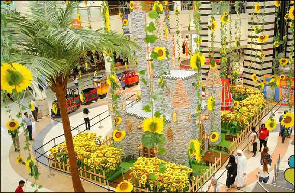 Summer vibes take over Al Wahda Mall