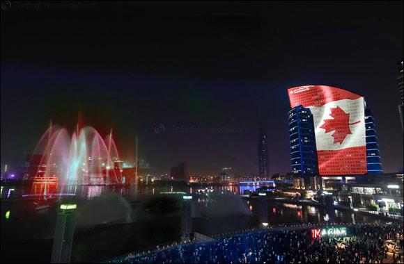Dubai Festival City Mall Celebrates Canada Day