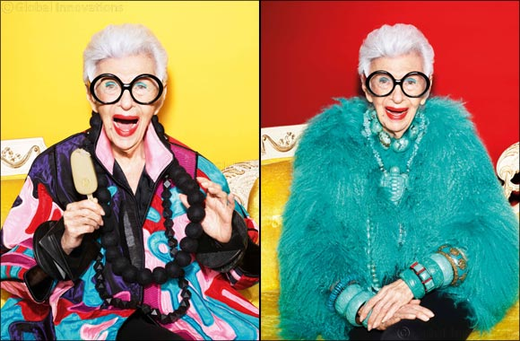 Fashion Icon, Iris Apfel, Stars in Magnum's Most Playful Campaign Yet