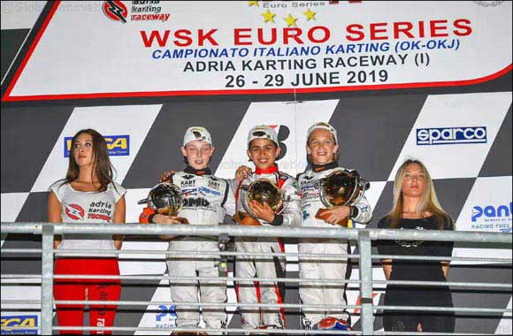 Second Championship Victory This Year for Young Emirati Karting Star Rashid Al Dhaheri