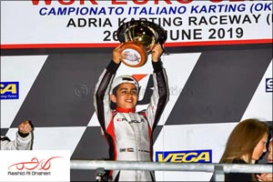 Second Championship Victory This Year for Young Emirati Karting Star Rashid Al Dhaheri