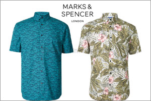 Marks & Spencer Menswear Summer 19 Collection