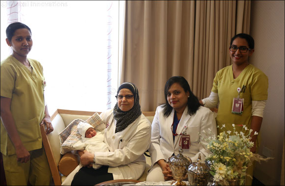 Abu Dhabi had its first water birth at Burjeel Hospital