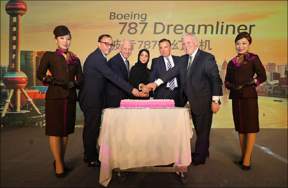 Etihad Airways Celebrates Commencement of  Boeing 787-10 Dreamliner Services to Shanghai