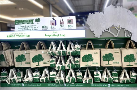 Carrefour rewards environmentally-conscious customers on  International Plastic Bag Free Day 2019