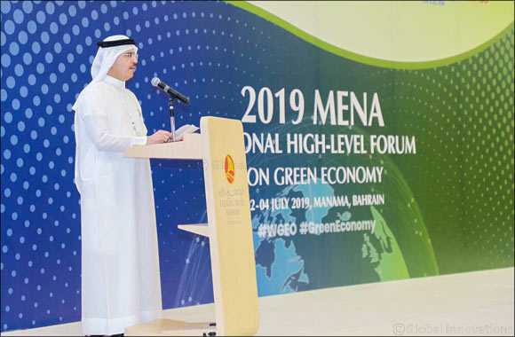 Bahrain hosts the 2019 MENA Regional High-Level Forum on Green Economy