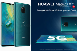 The 5G era begins: Huawei launches the King of 5G smartphones HUAWEI Mate 20 X (5G)