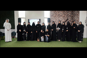 MoHAP Youth Council Interviews Zainab Al Bloushi �Winner of Happiness and Positivity Medal� After Sa ...