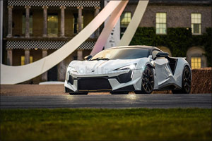 W Motors Headlines at Goodwood Festival of Speed With Limited Edition Fenyr Supersport