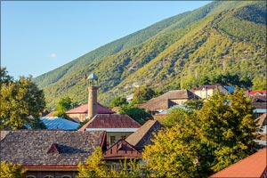 UNESCO inscribes Azerbaijan's historic Centre of Sheki with the Khan's Palace to the World Heritage  ...