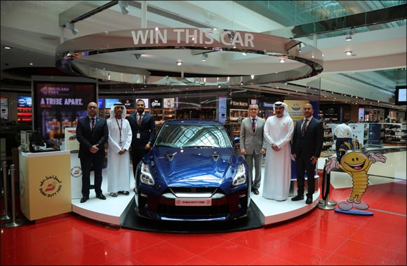 Dubai Duty Free and Arabian Automobiles raffle a Nissan GT-R this holiday season