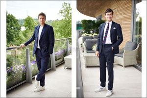 Ralph Lauren at The Championships, Wimbledon � Wednesday 10th July