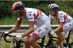 Philipsen and Kristoff Claim Top 10 Spots for Uae Team Emirates in Stage 7 Sprint Finish