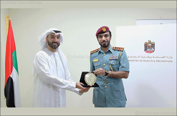 MoHAP Youth Council Discusses Mutual Cooperation with Civil Defence Youth Council
