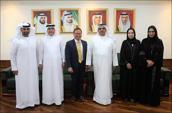 Ras Al Khaimah and Singapore to Discuss the Bilateral Cooperation'