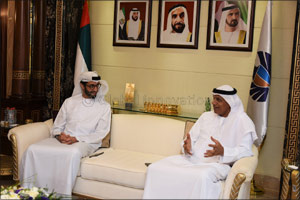 Ahmed Mahboob Musabih welcomes DGEP Coordinator General