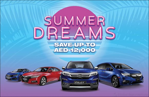 Trading Enterprises – Honda makes dreams a reality this Summer