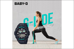 Summer-ready BABY-G G-Lide BAX-100 makes splash this hot season