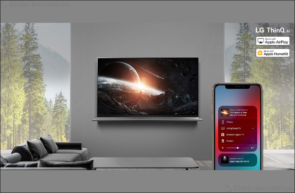 Lg Rolls Out Apple Airplay 2 on 2019 Thinq Ai Tvs, First Global Tv Manufacturer to Support Homekit
