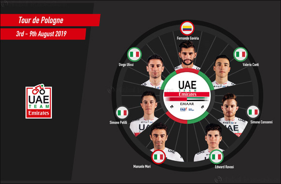 UAE Team Emirates' Fernando Gaviria Returns to Racing at the Tour of Poland