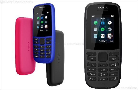 The all new Nokia 105 – with a battery that lasts and all your everyday essentials at an unbeatable value