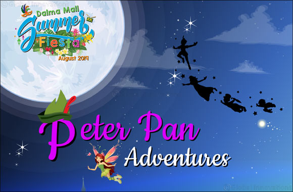Dalma Mall Brings Peter Pan's Magical Journey on Stage for the Mall Patrons