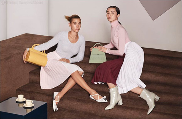 International supermodels Hailey Bieber and Xiao Wen Ju Are the Faces Of CHARLES & KEITH's Fall 2019 Collection Campaign
