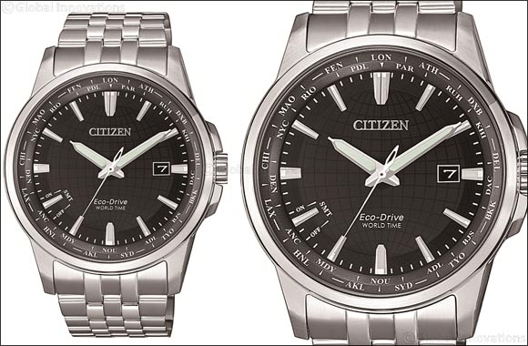 Citizen launches the new and enhanced generation of eco-drive world time watch collection