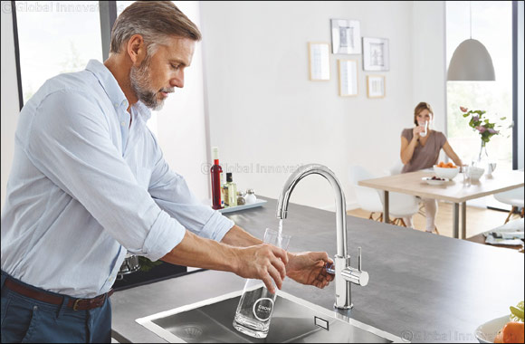 Cut Plastic Use and Boost Hydration with the GROHE Blue Home  Water System