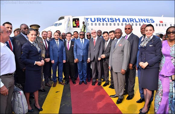 Turkish Airlines added Republic of Congo's Pointe-Noire to its flight network.