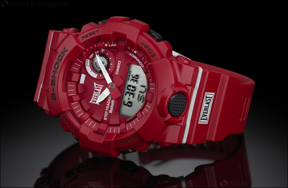 CASIO forms sports-themed collaboration with Everlast to produce new G-SHOCK GBA-800EL-4A model
