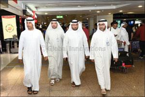 Dubai Customs, handles 3.9m passengers and 7.2m bags in Terminal (1), DXB International Airport in H ...