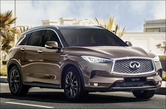 INFINITI of Arabian Automobiles records remarkable 19% growth in sales of all-new QX50 in H1 2019