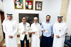 Three Bangladeshi businessmen from same family awarded UAE Gold Visa � a first in the country