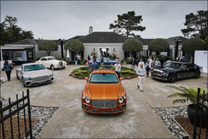 Bentley Motors Celebrates Centenary at Monterey Car Week