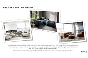 Modular Sofa's by Boconcept
