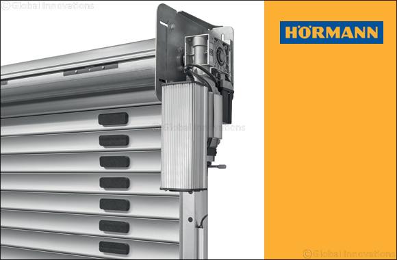 Hormann announces speed rolling shutter DD S6