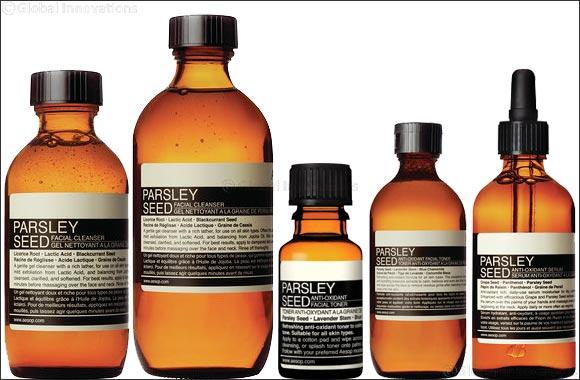 Aesop's Parsley Seed Skin Priming Regimen