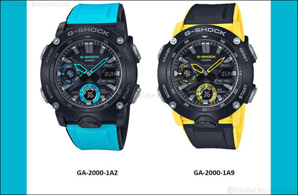 G-SHOCK GA-2000 with Carbon Core Guard Complements New Urban Outdoor Lifestyle'