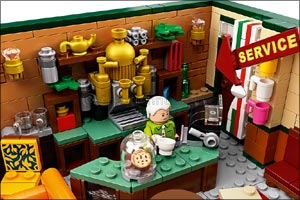 Could We Be Any More Excited? The Central Perk Set From Friends Arrives in Lego� Brick Form