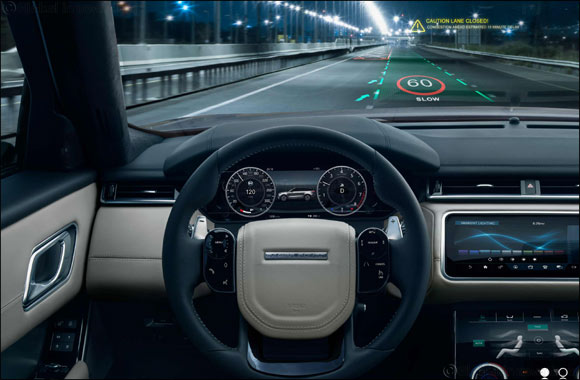 Jaguar Land Rover Develops Immersive 3d in-car Experience With Head-up Display Research