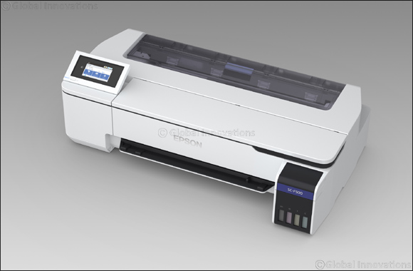 Epson announces its first 24-inch dye sublimation printer, the SureColor SC-F500