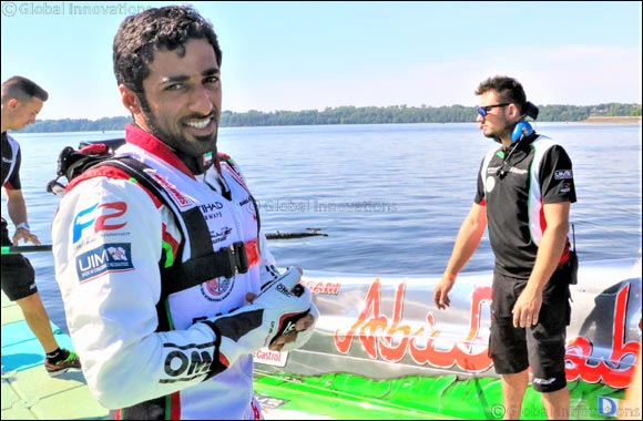 Team Abu Dhabi's Al Qemzi Sets Hot Pace in Italy