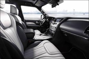 The INFINITI QX80 Built to Transform Driving Experiences