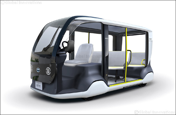Toyota Supports Tokyo 2020 with Specially-designed 'APM' Mobility Vehicle