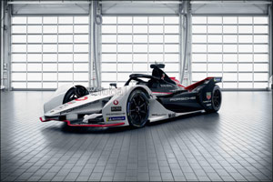 TAG Heuer Porsche Formula E team reveals 99X Electric car for the Formula E Championship