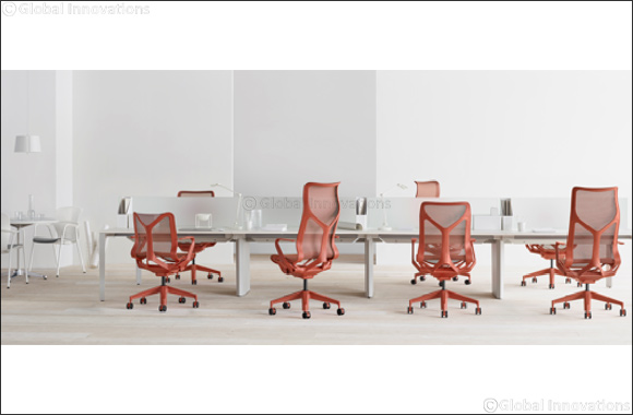"Cosm, Designed by Studio 7.5 for Herman Miller, Takes Home Red Dot's Best of the Best Product Design Award in the ""Office Chairs"" Category"