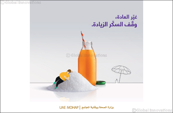 "Ministry of Health & Prevention Launches the Awareness Campaign ""Beat the Habit…Fight Extra Sugar""Dubai,"