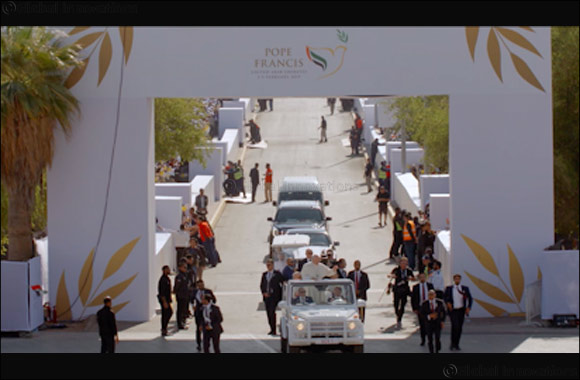 Abu Dhabi Media and National Geographic Document Historic Pope Visit to the UAE