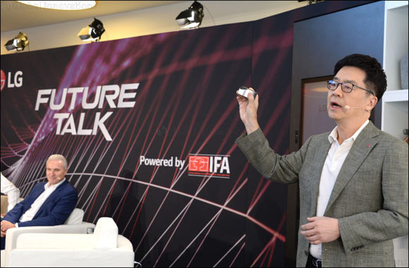 At Lg Future Talk Powered by Ifa LG Shows How Ai Can Make Anywhere Feel Like Home